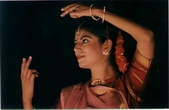 Kathak recital at Thar festival, photo by Michael berger