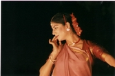 Kathak recital at Thar festival, Jaisalmer 2000 Photo by Michael Berger