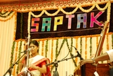 Performing for Saptak festival, Ahmedabad 2009