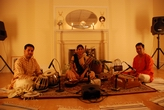 Performing for the Chhandayan center for performing arts, NY. Sh. Dibyarka... Chatterji on Tabla, Sh. Kedar Naphade on Harmonium