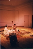 Performing at the University of Redland, CA with Hemant Ekbote on Tabla