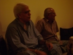 My gurus- Pt. Rajan Mishra and Pt. S. S. Pandey